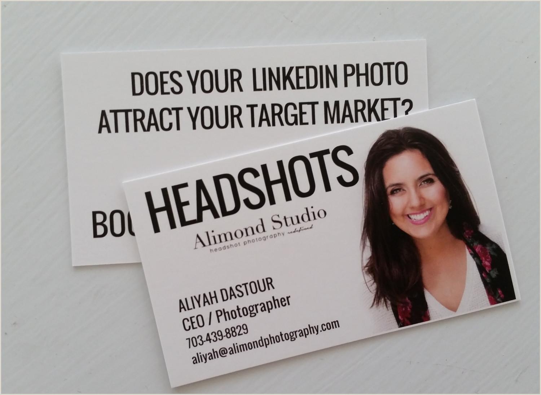 Unique Headshot Business Cards Business Cards Headshot Or No Headshot — Alimond Studio