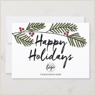Unique Holiday Business Greeting Cards Business Holiday Cards
