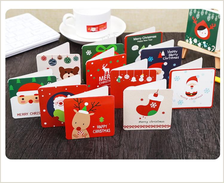 Unique Holiday Cards Business 2018 New Christmas Cards Business Christmas Cards Mini Bless Cards From Tumuz $12 07