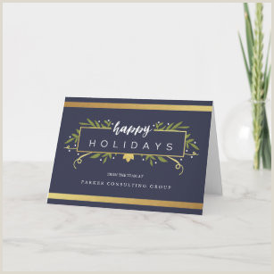 Unique Holiday Cards Business Business Holiday Cards