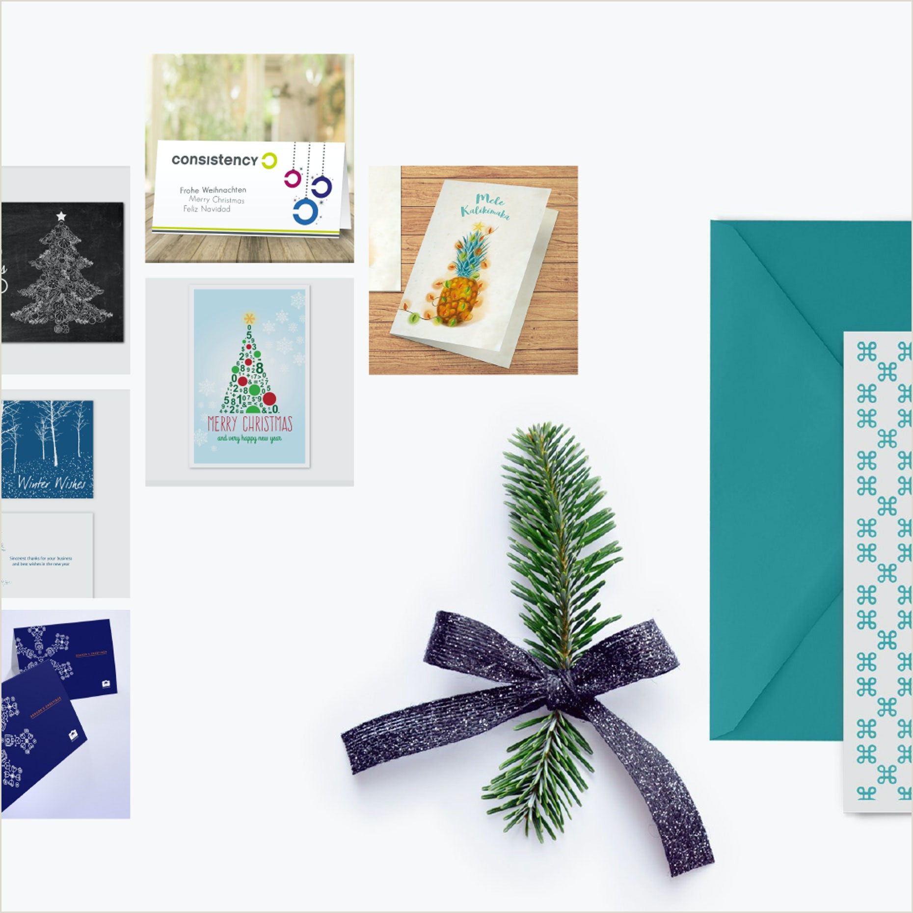 Unique Holiday Cards Business Custom Holiday Cards For Businesses Ideas Inspiration And