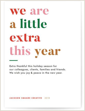 Unique Holiday Cards Business Extra Business Holiday Cards