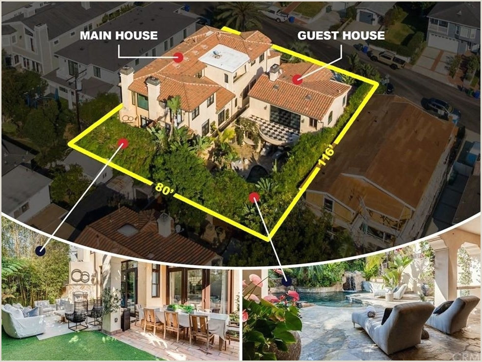 Unique Images Of Raised Realtor Business Cards Most Expensive Home In Manhattan Beach Has Pool With