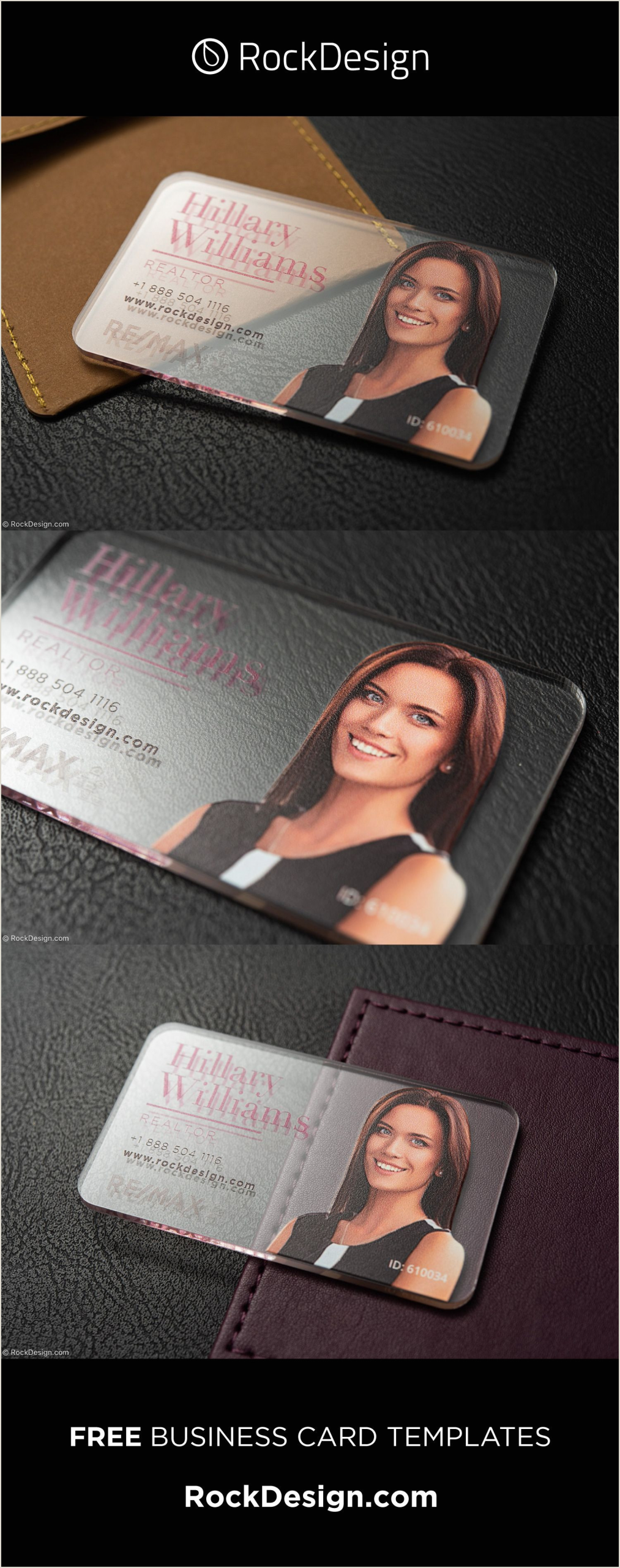 Unique Images Of Raised Realtor Business Cards Realtor Printed Acrylic Business Card Template Design