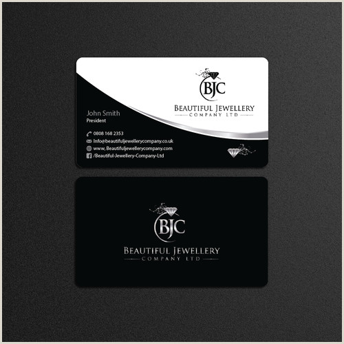Unique Jewelry Business Cards Business Card For Beautiful Jewellery Pany Ltd