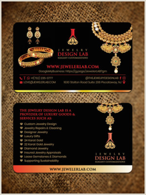 Unique Jewelry Business Cards Jewelry Business Cards