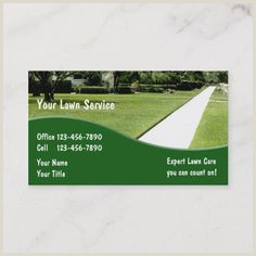 Unique Landscaping Business Cards 100 Landscaping Business Cards Ideas In 2020