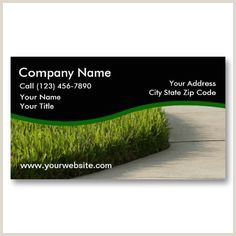 Unique Landscaping Business Cards 20 Lawn Service Business Cards Ideas