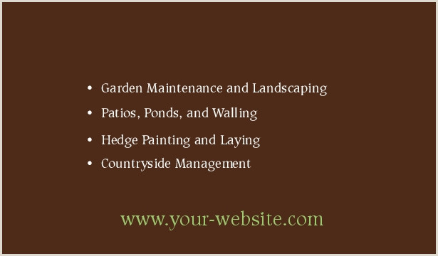 Unique Landscaping Business Cards Landscaping Business Cards