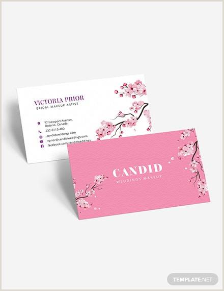 Unique Makeup Artist Business Cards Bridal Makeup Contract For Makeup Artist