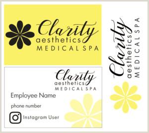 Unique Medi Spa Business Cards Serious Upmarket Medical Business Card Design For A