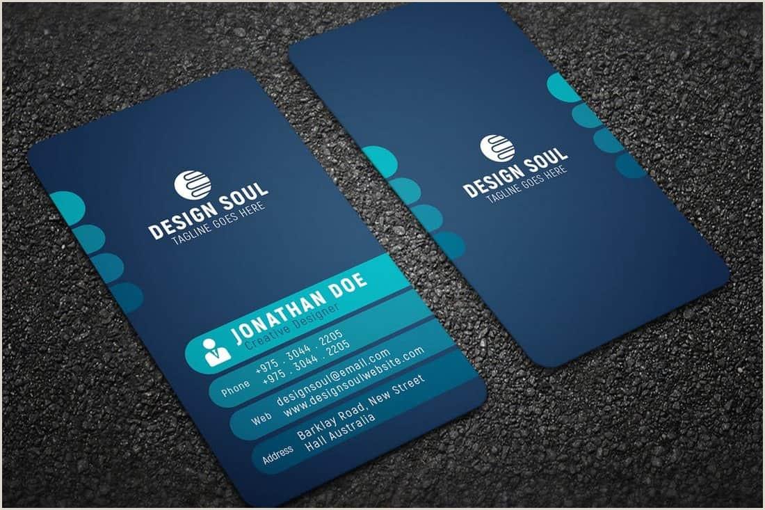 Unique Modern Business Cards 20 Best Modern Business Card Templates 2020 Word Psd