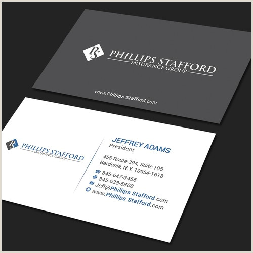 Unique Modern Business Cards Create A Professional Modern Business Card Design For A B2b