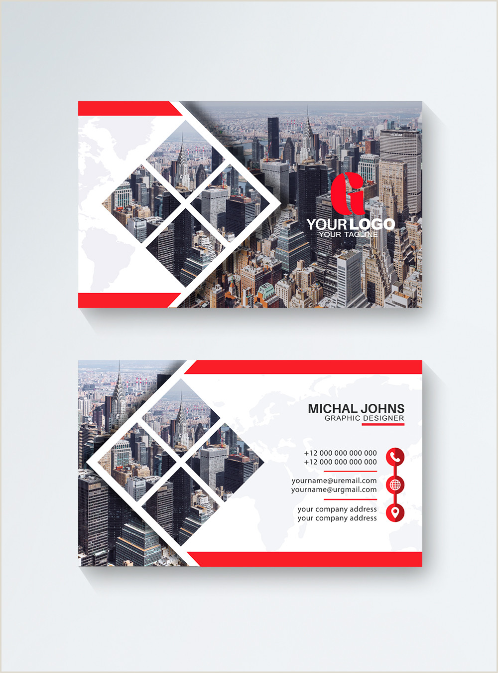 Unique Modern Business Cards Modern Unique Business Card Template Image Picture Free