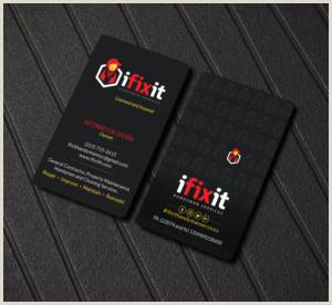 Unique Name Logos For Handyman Business Cards Handyman Business Cards