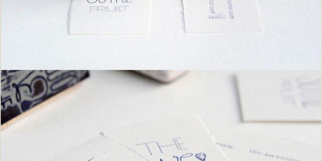 Unique Online Business Cards 30 Unconventional Business Cards