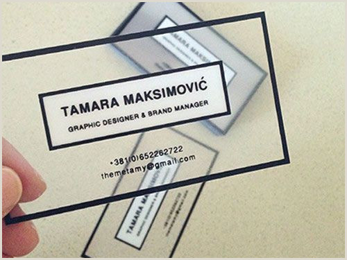 Unique Opaque Business Cards 25 Creative And Awesome Business Cards Designs
