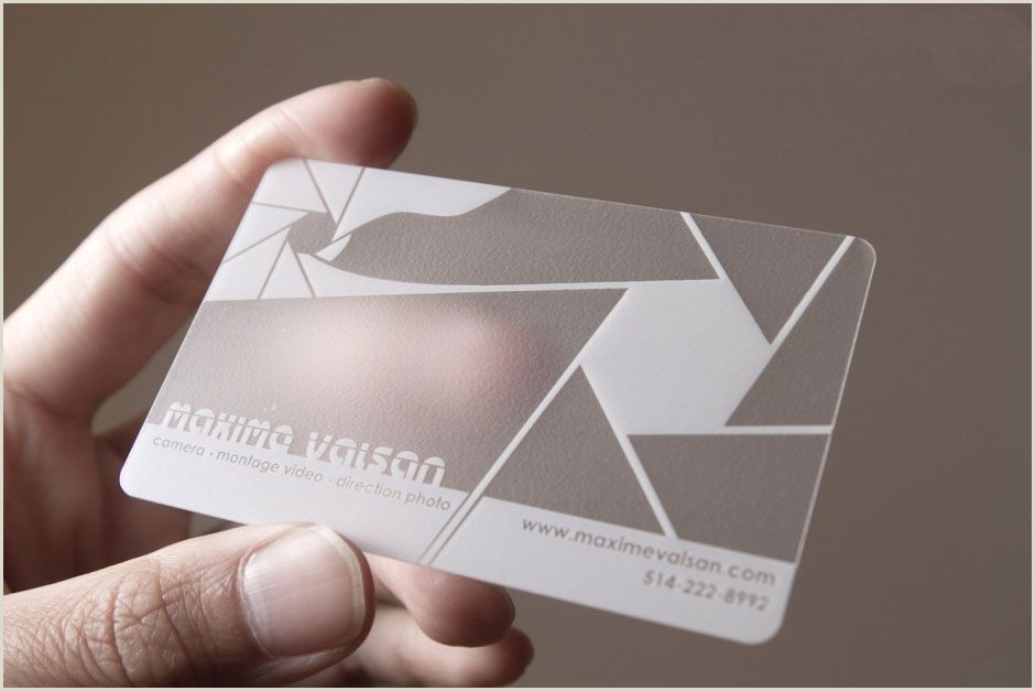 Unique Opaque Business Cards Business Cards Opaque Frosted Translucent