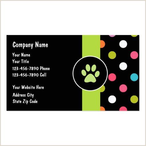 Unique Pet Sitting Business Cards Animal Pet Care Business Card Templates