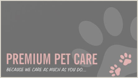 Unique Pet Sitting Business Cards Girly Pet Sitting And Pet Care Business Cards Girly