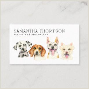 Unique Pet Sitting Business Cards Pet Sitting Business Cards Business Card Printing