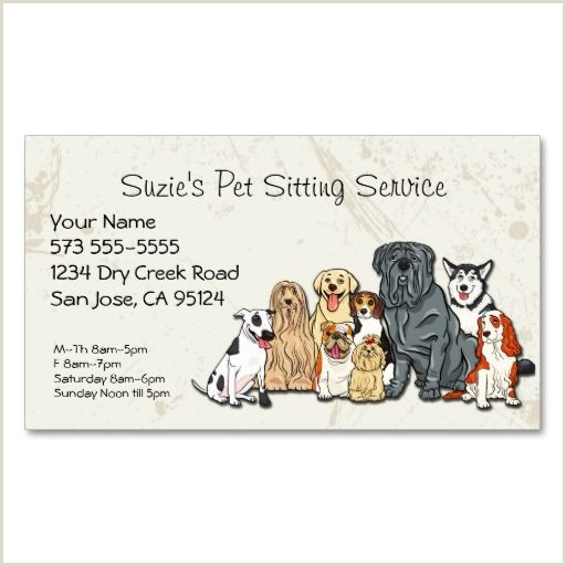 Unique Pet Sitting Business Cards Pin On Tattoo