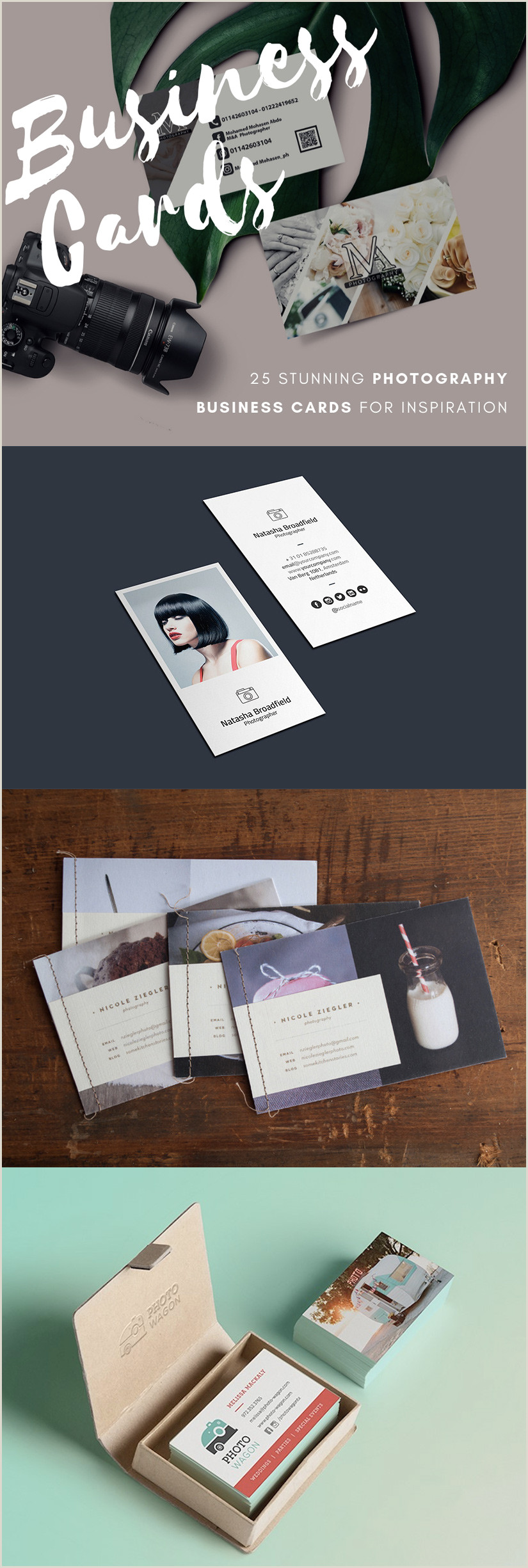 Unique Photography Business Card 50 Best Graphy Business Cards For Inspiration