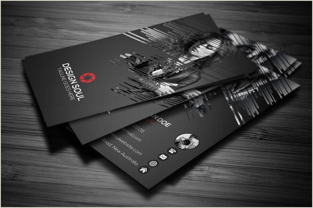 Unique Photography Business Card Graphy Business Cards 20 Templates & Ideas