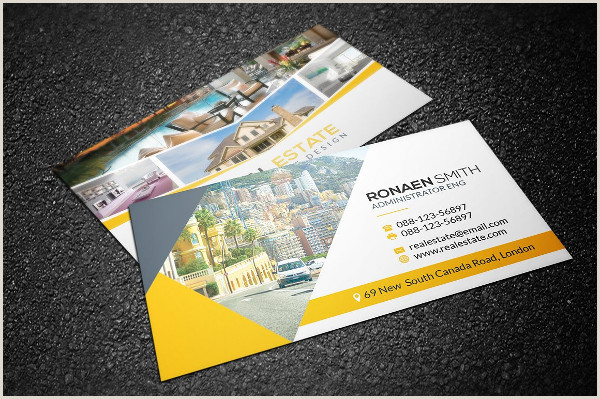 Unique Real Estate Business Cards Free 25 Real Estate Business Card Templates In Psd