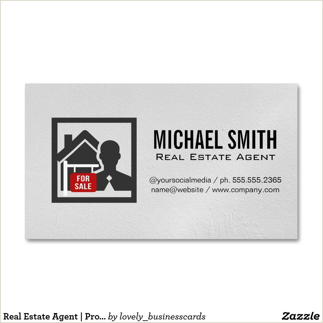 Unique Real Estate Business Cards Real Estate Agent Property Manager Business Card