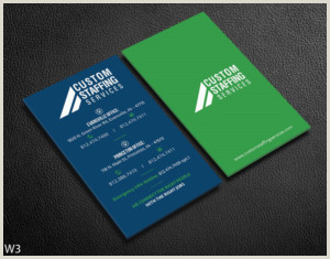 Unique Recruiting Business Cards Staffing Business Cards