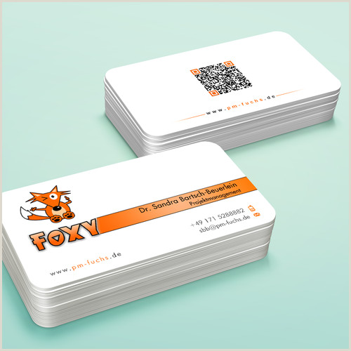 Unique Relief Business Cards Fox Foxy Fox Business Card For Business With Serious Contents