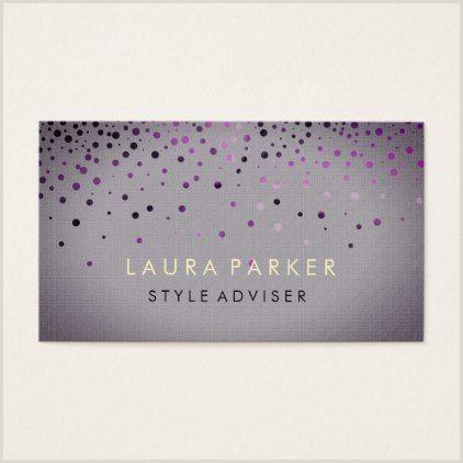 Unique Sparkle Business Cards Elegant Glitter Subtle Cream Faux Background Business Card