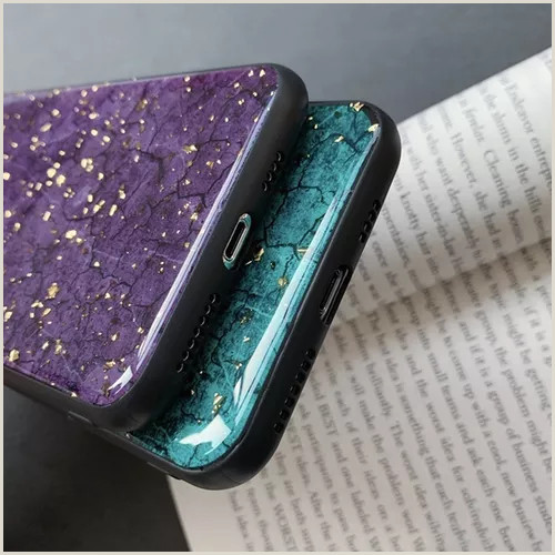 Unique Sparkle Business Cards Glitter Gold Foil Marble Soft Silicon Tpu Case For IPhone 6 7 8 Plus IPhone X Xs Xr Xmax Back Cover For Galaxy S8 S9 S10 Plus Note 8 Note 9 Phone Case