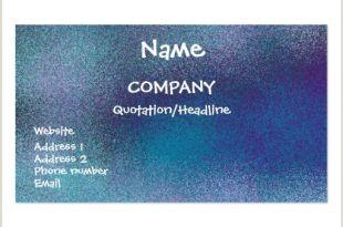 Unique Sparkle Business Cards Sparkle Business Card Templates Page20