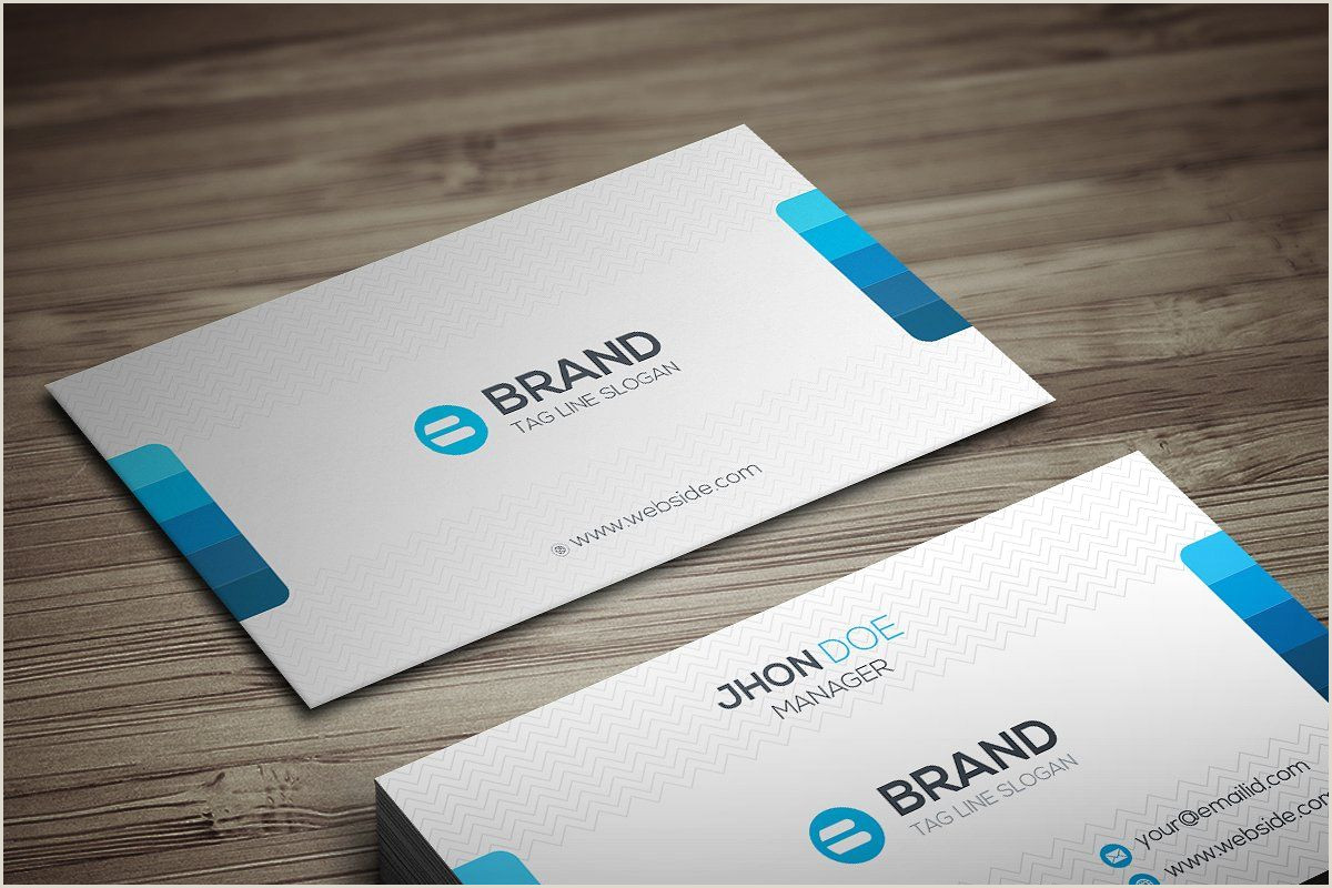 Unique Style Business Cards Brand Business Card In 2020