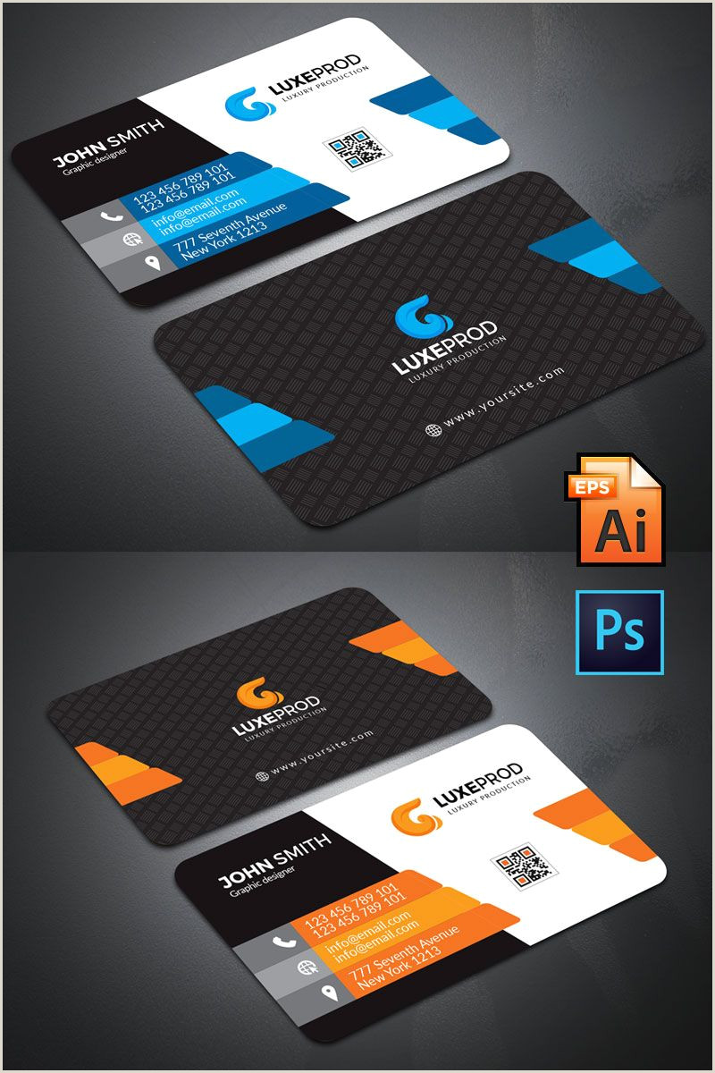 Unique Style Business Cards New Style Business Card Corporate Identity Template
