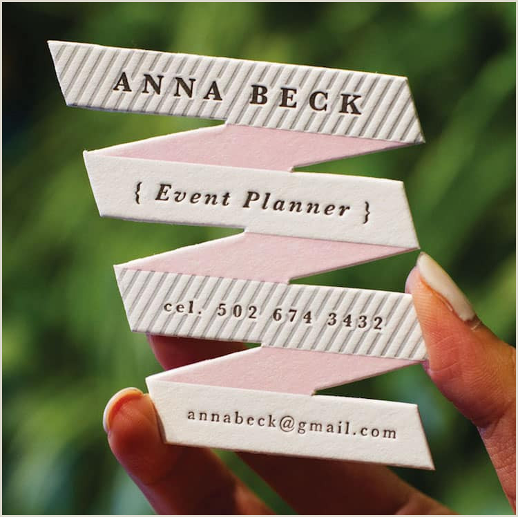 Unique Ways To Display Business Cards 40 Cool Business Card Ideas That Will Get You Noticed
