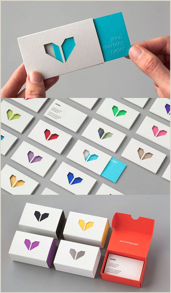 Unique Ways To Display Business Cards 50 Creative Branding And Identity Design Examples For Your