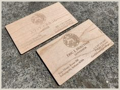 Unique Ways To Display Business Cards 70 Wood Business Cards Ideas In 2020