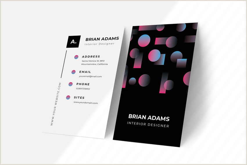 Unique Ways To Present Business Cards 25 Best Beautiful Business Cards With Unique Stand Out