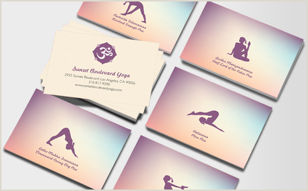 Unique Yoga Business Cards 25 Inspiring Yoga Business Cards From Around The Web