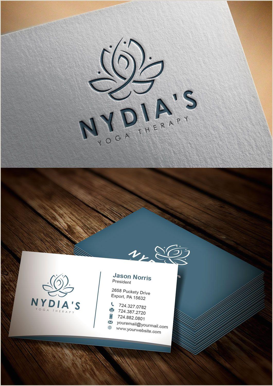 Unique Yoga Business Cards Yoga Logo Logotype Logos Yogalogo Logodesign