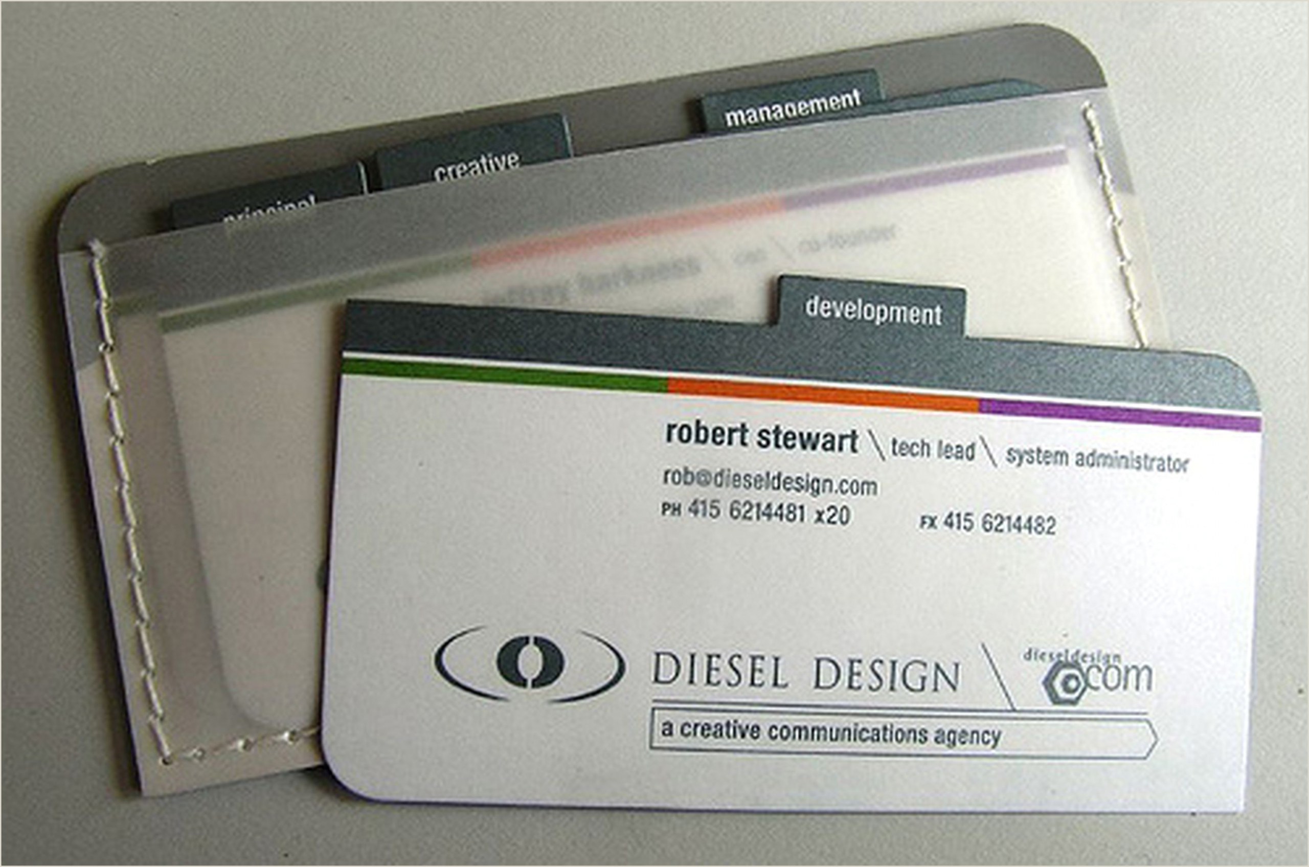 Unusual Business Cards 30 Unconventional Business Cards