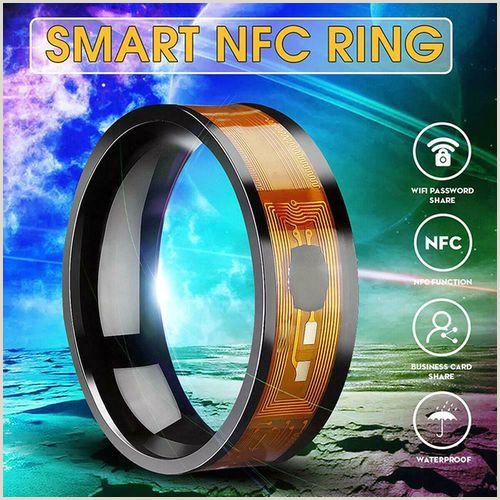 Usiness Cards Nfc Waterproof Multifunctional Intelligent Rings Smart Wear Finger Digital Dragon Pattern Ring Vova