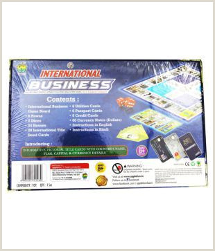 Usiness Cards Toys Factory International Business Board Game