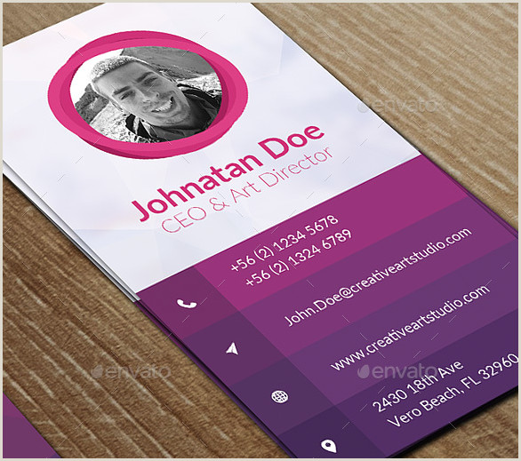 Vertical Business Card Examples 14 Vertical Business Card Templates Psd Ai Word