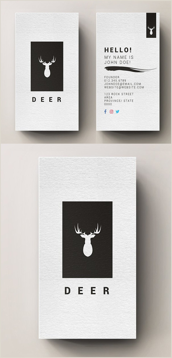 Vertical Business Card Examples 80 Best Of 2017 Business Card Designs Design