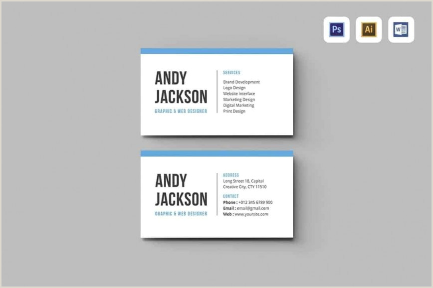 Vertical Business Card Inspiration Business Card Word Template Addictionary