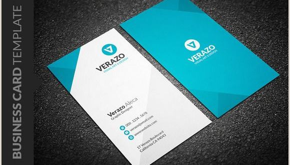 Vertical Business Card Inspiration Clean Vertical Business Card